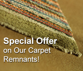 Special Offer on Carpet Remnants